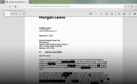 #亚马逊被曝用AI监控员工摸鱼# 900多名员工因此被解雇