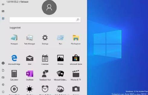 全新Windows 10开始菜单曝光