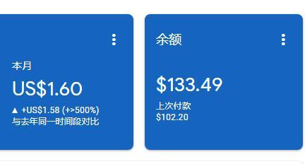 本站自从上了谷歌联盟广告费每月最少赚100美元起